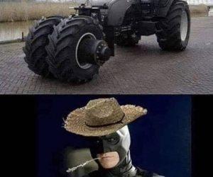 Batmobile Tractor – Meme