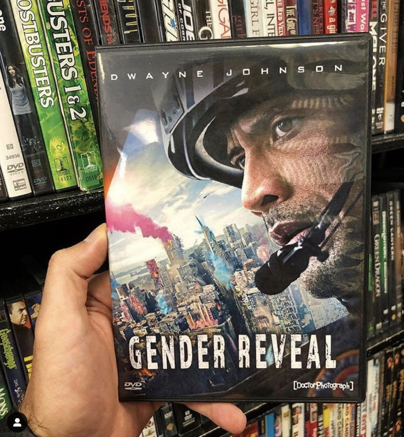 dwayne johnson gender reveal