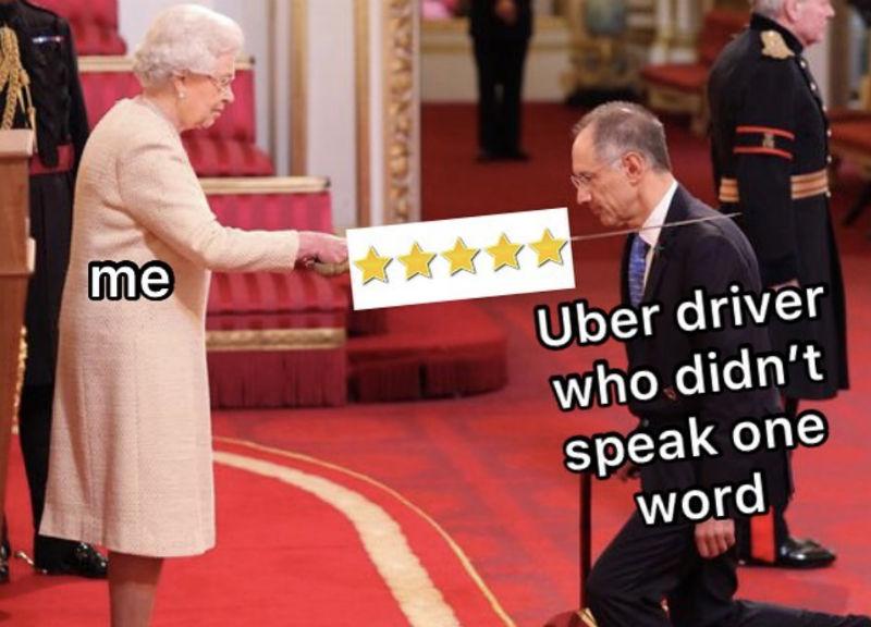 me uber driver who didnt