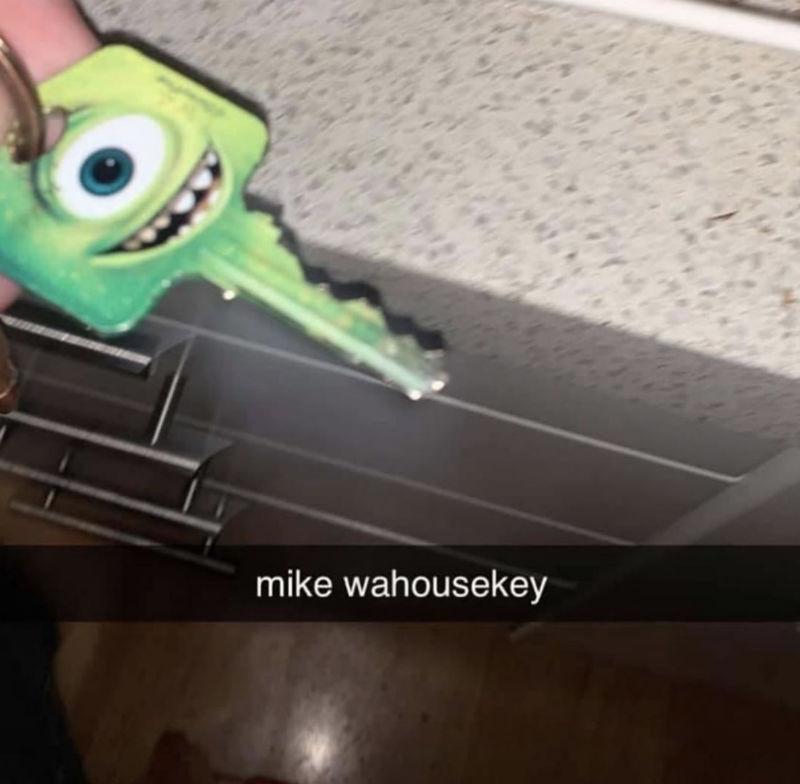 mike wahousekey meme