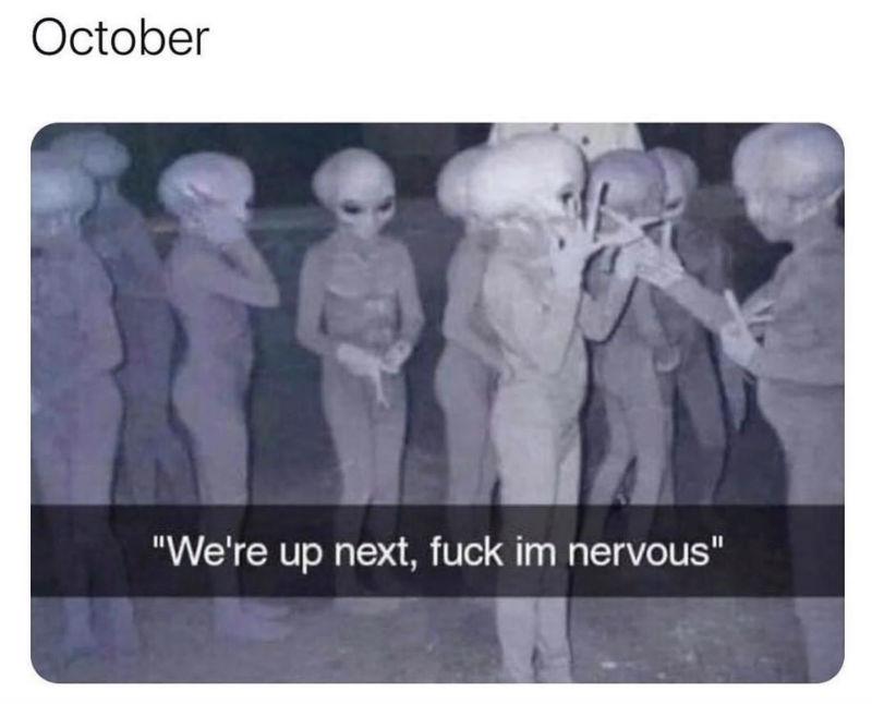 october were up next