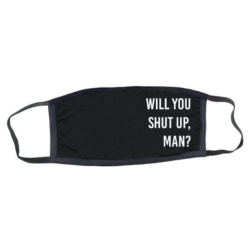 will you shut up man biden trump face mask
