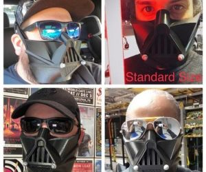 Darth Vader Face Mask – The Force is strong with this mask!