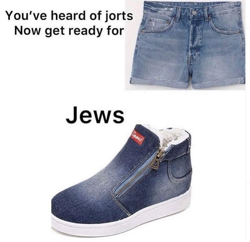 jorts jews meme