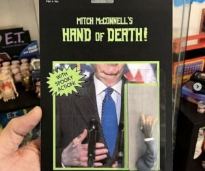 Mitch McConnell's Hand Of Death – Meme