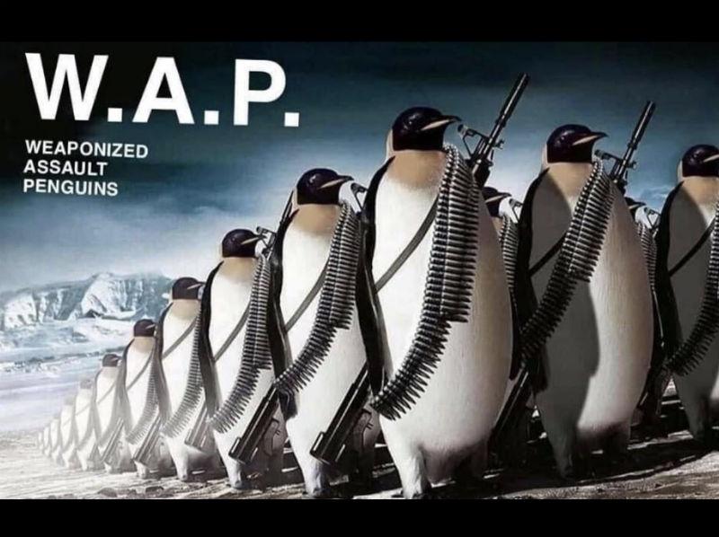 wap weaponized assault penguins