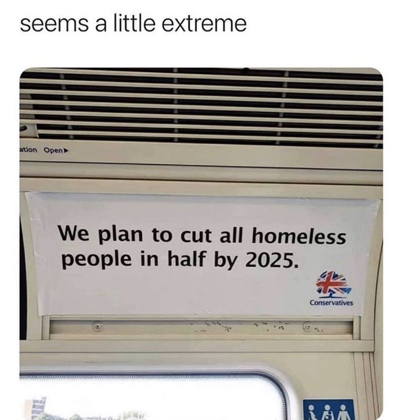 we plan to cut all homeless people in half by 2025