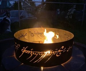 LOTR Fire Pit – One fire pit to rule them all!