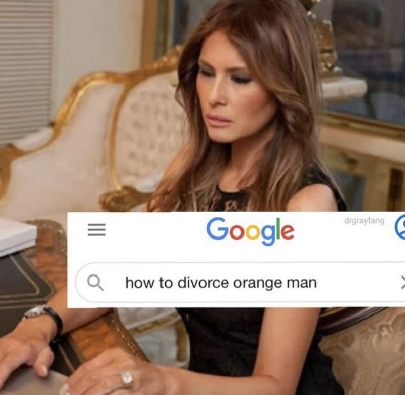 how to divorce orange man