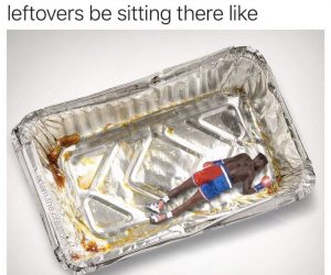 Nate Robinson Knockout Meme – Thanksgiving Leftovers Be Sitting There Like…