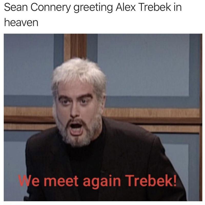 sean connery greeting alex trebek
