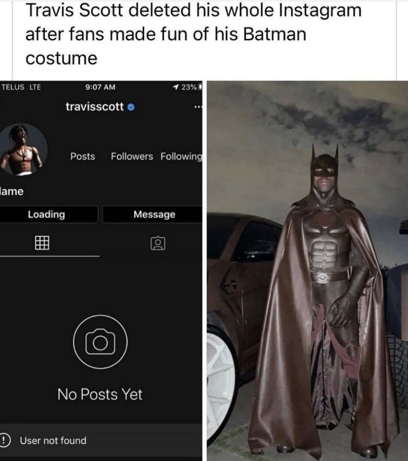 travis scott batman