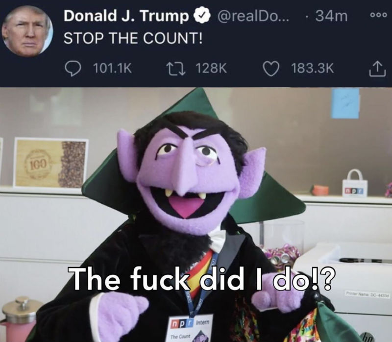 stop the count