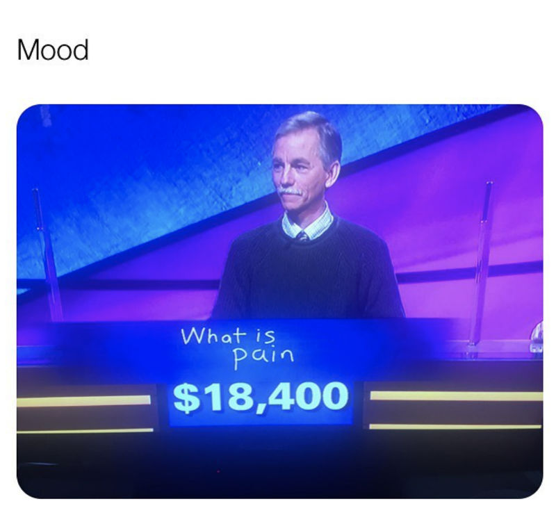 what is pain jeopardy meme