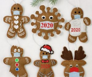 2020 Pandemic Christmas Ornaments –Remember 2020 each year with this fun and cute ornament.