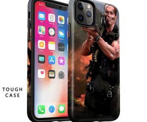 Arnold Schwarzenegger Commando Phone Case –  Let's Party and Let off some steam, Bennett!