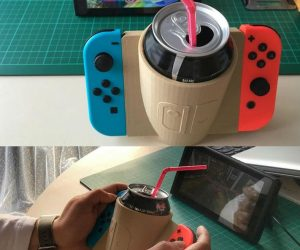 Nintendo Switch Drink Holder – Now you can drink and play at the same time with this Switch drink holder!