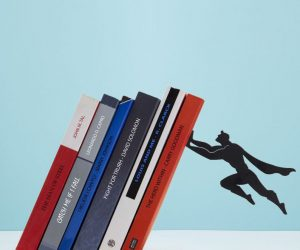Superman Bookend – Your books won't fall with this Superman Bookend!