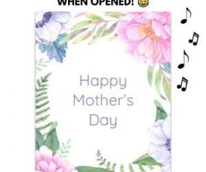 Endless Mom, Mommy, Mama Prank Mother's Day Card With Glitter – Make Mother's Day fun and memorable with this Perfect Mother's day card!
