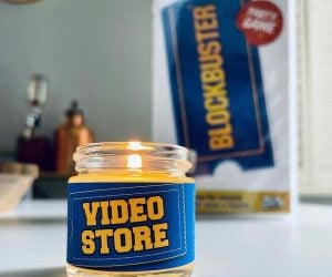 Video Store Blockbuster Inspired Candle –This Blockbuster Inspired Candle Smells like Butter, Carpet, and VHS Tapes!