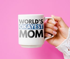 World's Okayest Mom Mother's Day Mug – Show your love to your mom with this Mother's Day mug!