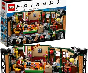 Friends Lego Set –Celebrate the 25th anniversary of the legendary Friends TV show, with this highly collectible LEGO Ideas 21319 Central Perk set!