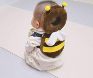 Animal Shaped Baby Head Protector –Baby head protector helps protect baby's head and backside when they are crawling and walking.