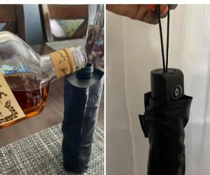 GoPong Rain or Shine Umbrella Flask –Perfect for you and your friends at the beach, concerts, stadiums, theme parks, and more!