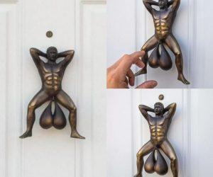 Doorballs Door Knockers –Show the world your balls with Doorballs, the world's funniest door knocker!
