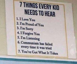 7 Things Every Kid Needs To Hear Communism Meme
