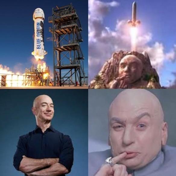 jeff bezos dr evil rocket meme