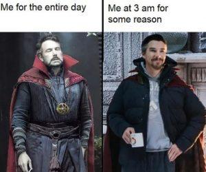 Dr Strange Happy Ben Affleck Meme