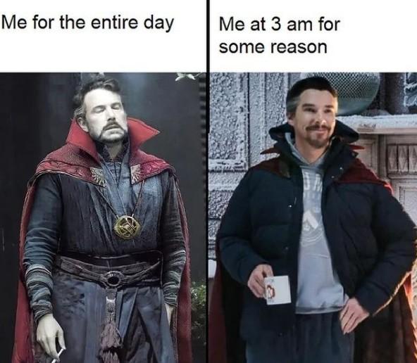 dr strange happy meme