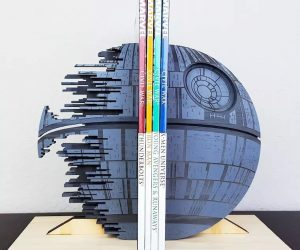 Star Wars Death Star Bookend – That's no moon! Star Wars Death Star Bookend is perfect for any Star Wars lover!