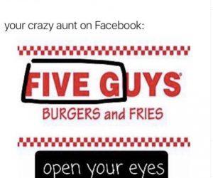 Five Guys 5G Meme