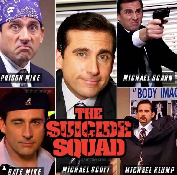 michael scott suicide squad