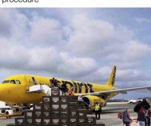 Spirit Airlines Milk Crate Challenge – Meme