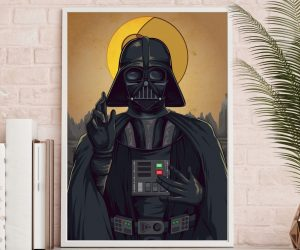 Lord Vader Blesses You Poster –Lord Vader is everyone's father in faith, and he's here to bless us!