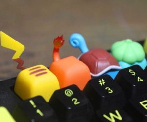 Pokemon Keycaps –Pokemon fans will surely love their keyboard once they're decked out with these Pokemon keycaps!