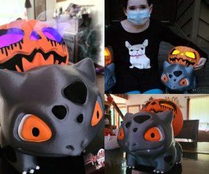Halloween Pumpkin Bulbasaur – Make a spooky season cuter with thisHalloween Pumpkin Bulbasaur!