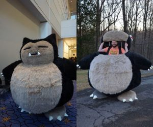 Snorlax Cosplay Digital Patterns –Block every Pokemon Trainer's path with this Snorlax Costume!