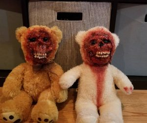 Bloody Horror Teddy Bears –DarkSeed's custom character Bubby the Baby Eater presents his very own handcrafted Bubby Bears!