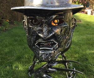 Freddy Krueger Wood Burner – One, Two Freddy's coming for you the wood burner of your nightmares!